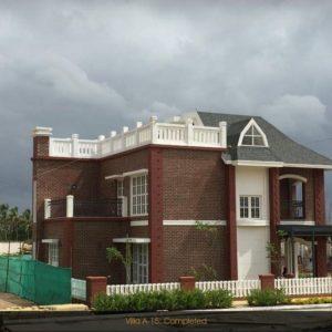 Prestige-lakeside Habitat Completed Villa