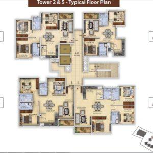Tower 2 T5 Salarpuria Divinity Floor Plan