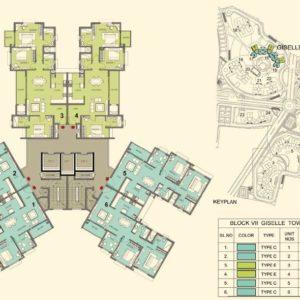 Tower 15-16-17- Prestige Lakeside Habitat Typical Floor Plan