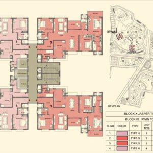 Tower 19-21 - Prestige Lakeside Habitat Typical Floor Plan