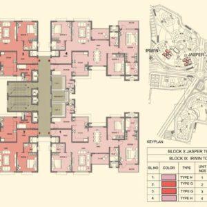 Tower 20-22- Prestige Lakeside Habitat Typical Floor Plan