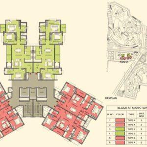Tower 22-23 - Prestige Lakeside Habitat Typical Floor Plan