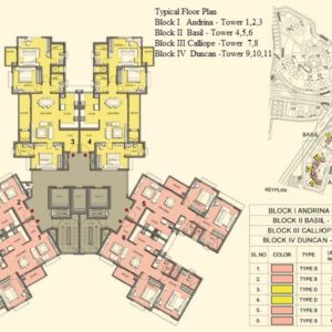 Typical Floor Plan- Tower 1-2-3-4-5-6-7-8-9-10-11