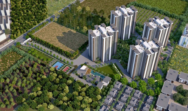 Alchemy Urban Forest 2 3 Bedroom Apartments Whitefield Bangalore