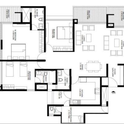 godrej-united-4-bedroom-plan