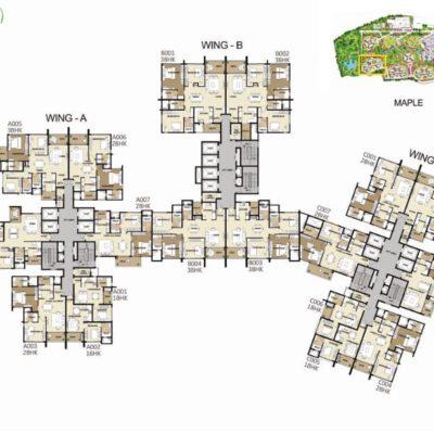 shapoorji-parkwest-maple-layout-plan