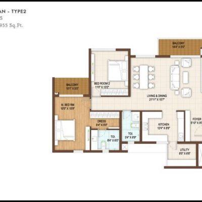 dnr-reflection-3-bedroom-floor-plan