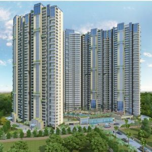 Elevation of Water's Edge, Luxury apartments at Hebbal by Equinox Realty