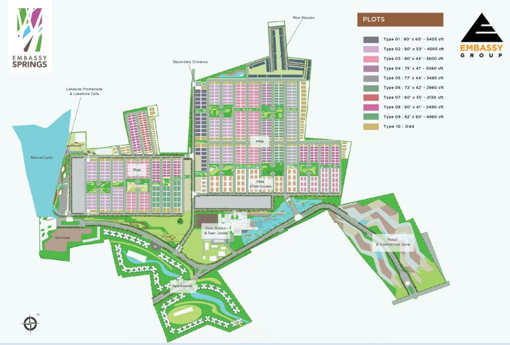 Embassy Springs Master Plan