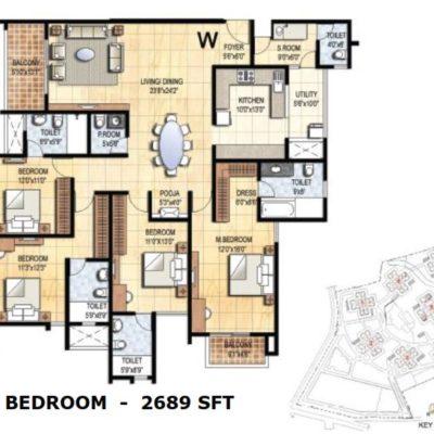 prestige-falcon-city-floor plan