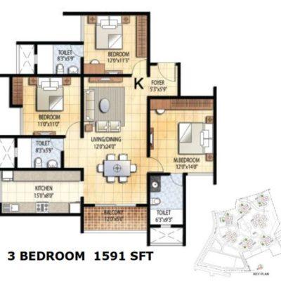 prestige-falcon-city-floor-plans