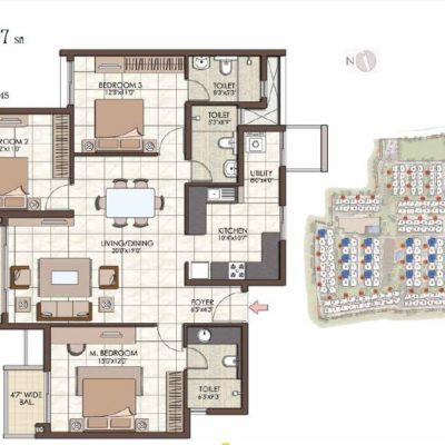prestige-kew-gardens-3-bhk-floor-plan