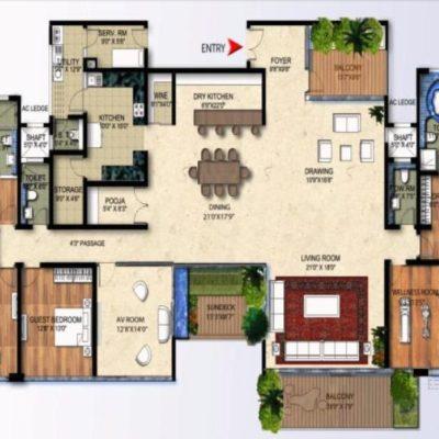 karle-zenith-4-bedroom-floor-plan