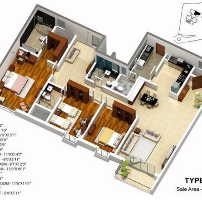 karle-zenith-floor-plan-type-4