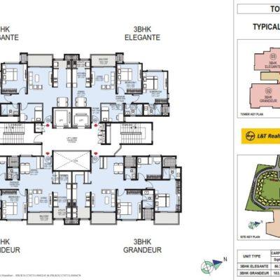 lnt-raintree-boulevard-apartment-tower-plan