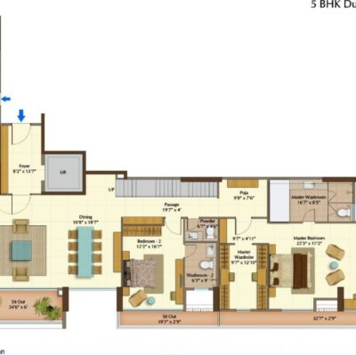 peninsula-heights-5-bedroom-floor-plan