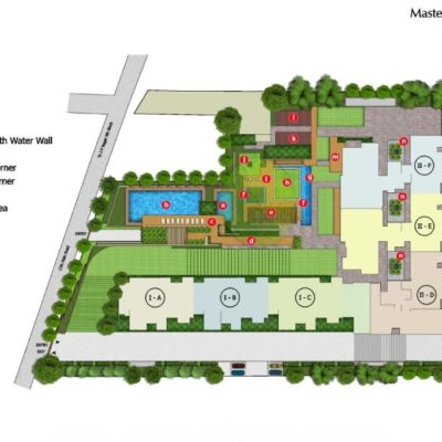peninsula-heights-master-layout-plan- bangalore