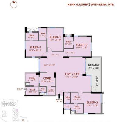 4-bedroom-divyasree-77-place-floor-plans
