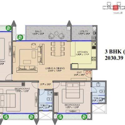 advantage-raheja-pebble-bay-floor-plans