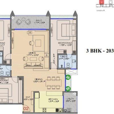 raheja-pebble-bay-koramangala-floor-plans