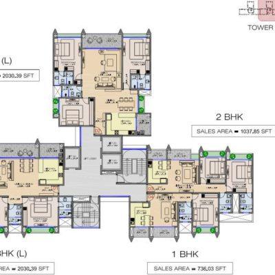 raheja-pebble-bay-koramangala-layout-plan