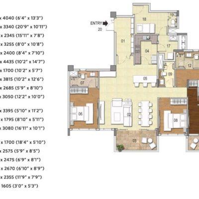 g-corp-residences-4bhk-plan