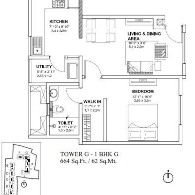 godrej-avenues-yelahanka-1-bhk-plan