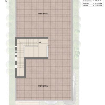 Address Makers Lake View 1500 sft Villa Plan
