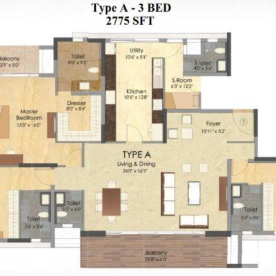 3 Bedroom Plans