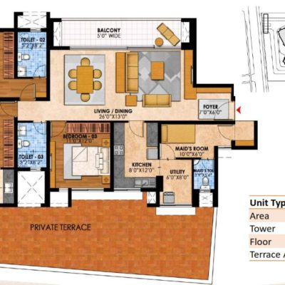 prestige-fairfield-3-bedroom-plan