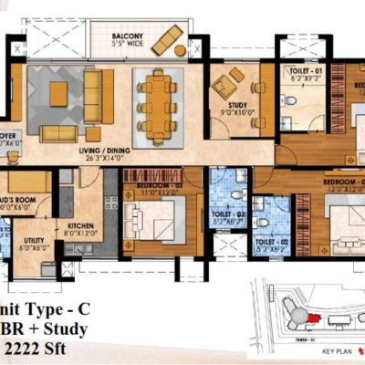 prestige-fairfields-floor-plans
