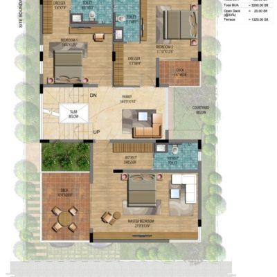 Address Makers Lake View 60x40 Villas
