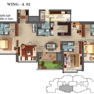 mantri-centrium-floor-plans