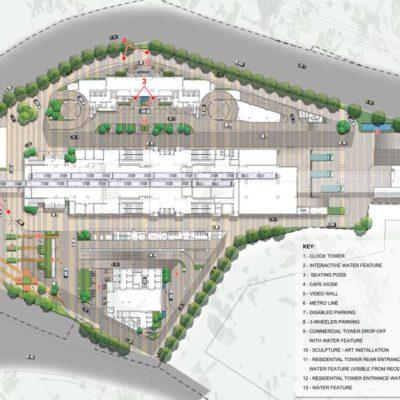 Master Plan - Mantri Centrium Bangalore