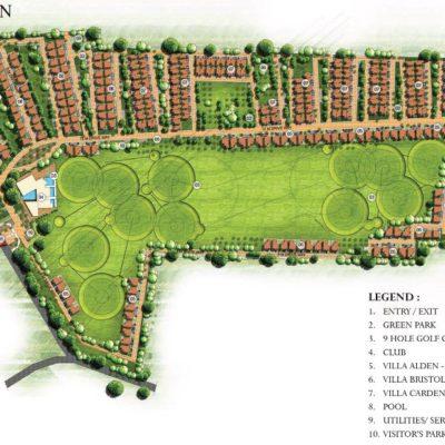 prestige-augusta-golf-village-master-plan