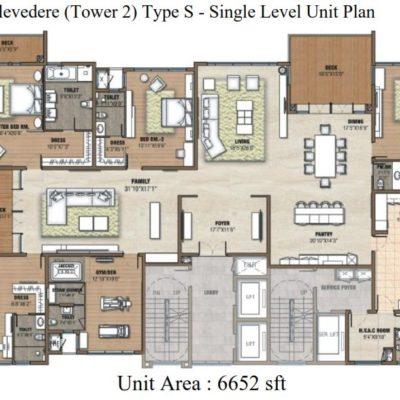 Prestige White Meadows Floor Plan