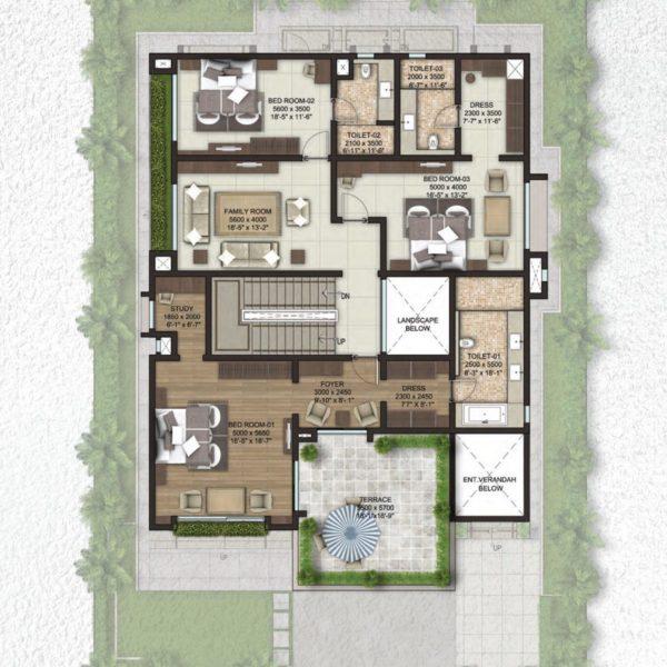 sobha-lifestyle-legacy-villa-plans