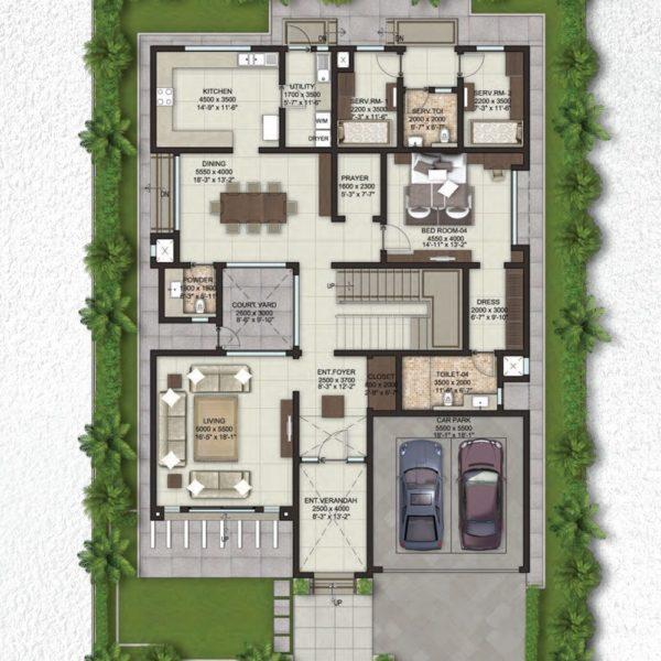 sobha-lifestyle-villa-plan