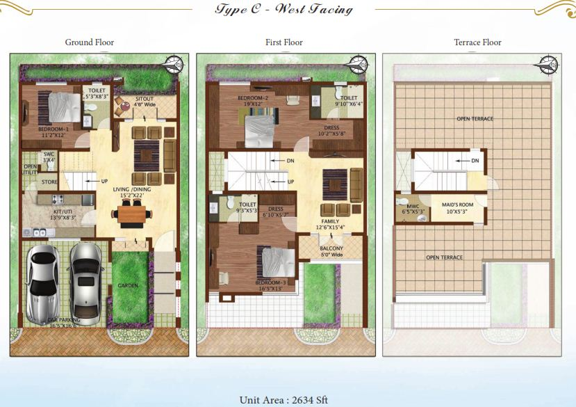 Woodside Homes Floor Plans: Prestige Woodside
