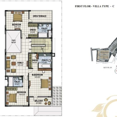 prestige-summerfields-villa-plans