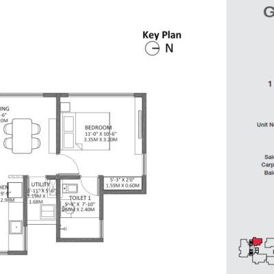 godrej-air-1-bedroom-plans