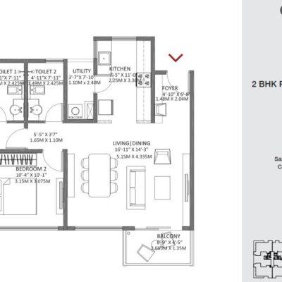godrej-air-2-bhk-floor-plan