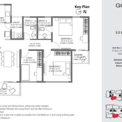 godrej-air-2.5-bhk-floor-plan