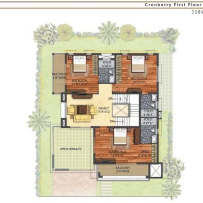 prestige-mayberry-whitefield-villa-layout