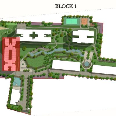 sobha-hrc-pristine-block-layout-plan