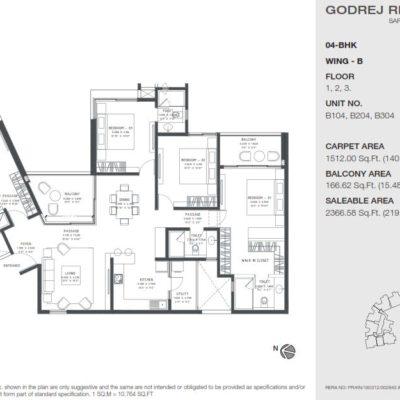 godrej-reflections-bangalore-floor-plan