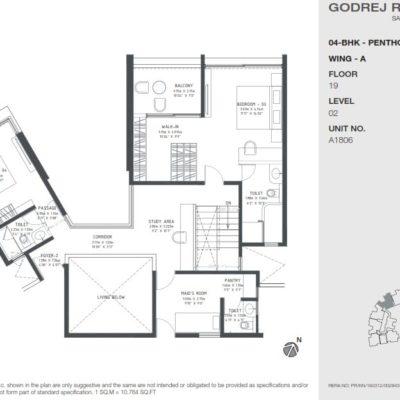 godrej-reflections-penthouse-duplex-plan