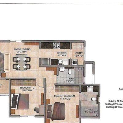 prestige-jindal-city-floor-plans