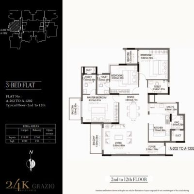 kolte-patil-24k-grazio-3-bedroom-floor-plan