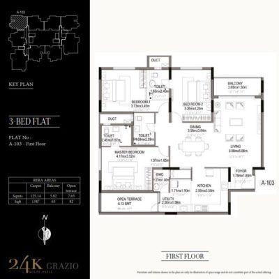 kolte-patil-24k-grazio-3-bhk-floor-plan